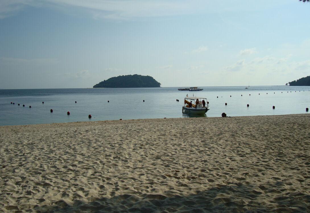 Marine paradise on Gaya Island