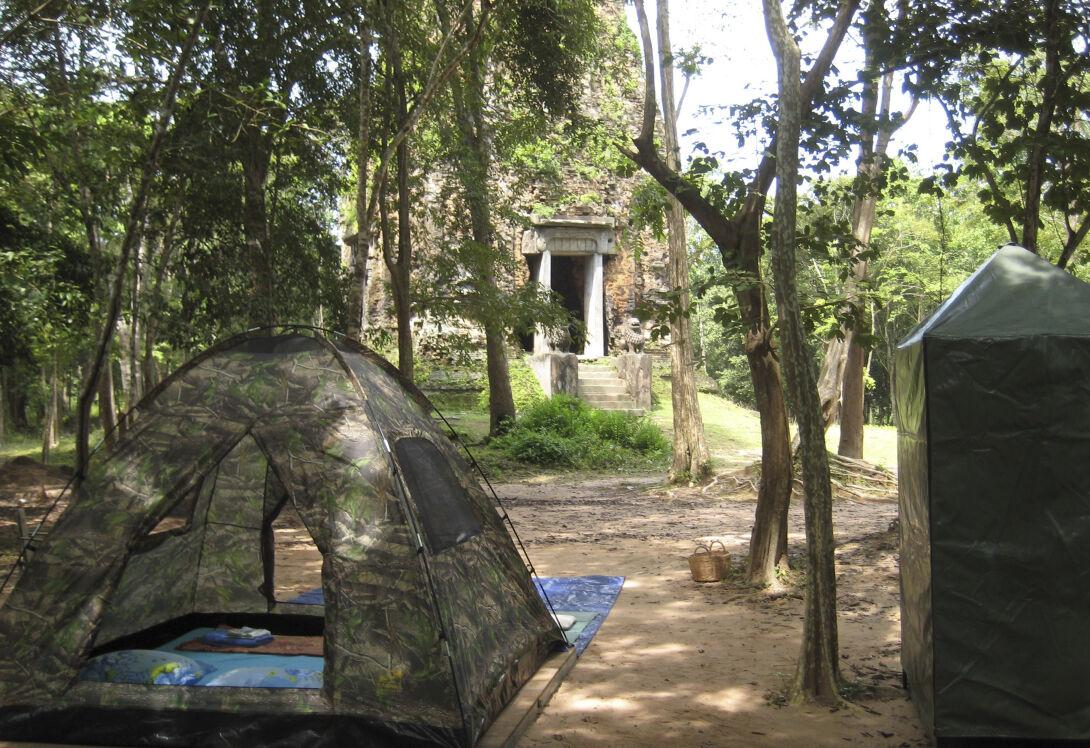 camping angkor cambodia