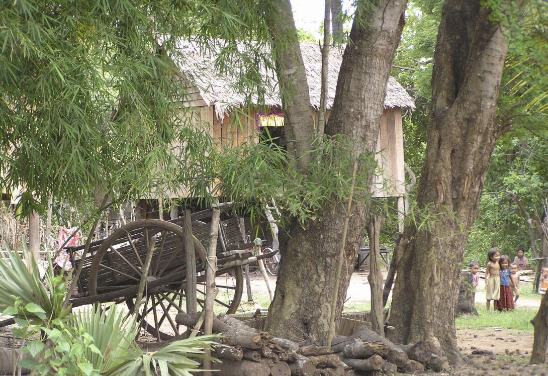 Remote rural village stay at Preah Rumkel