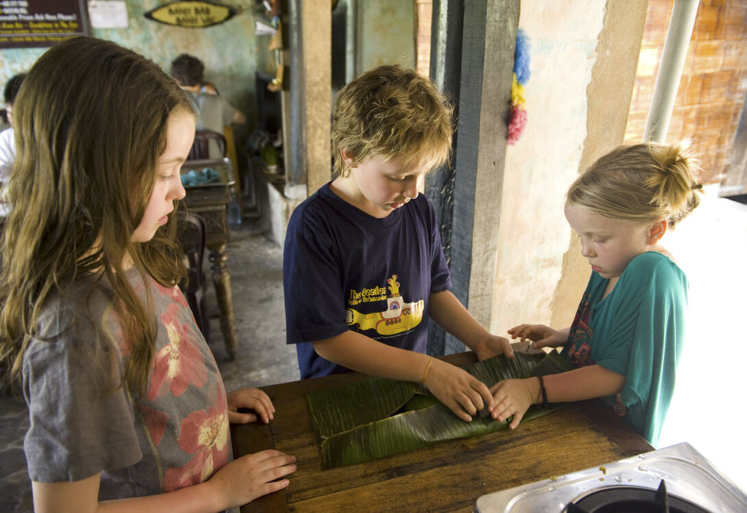 Channel your kids' inner Masterchef with a hands-on Hoi An cookery class