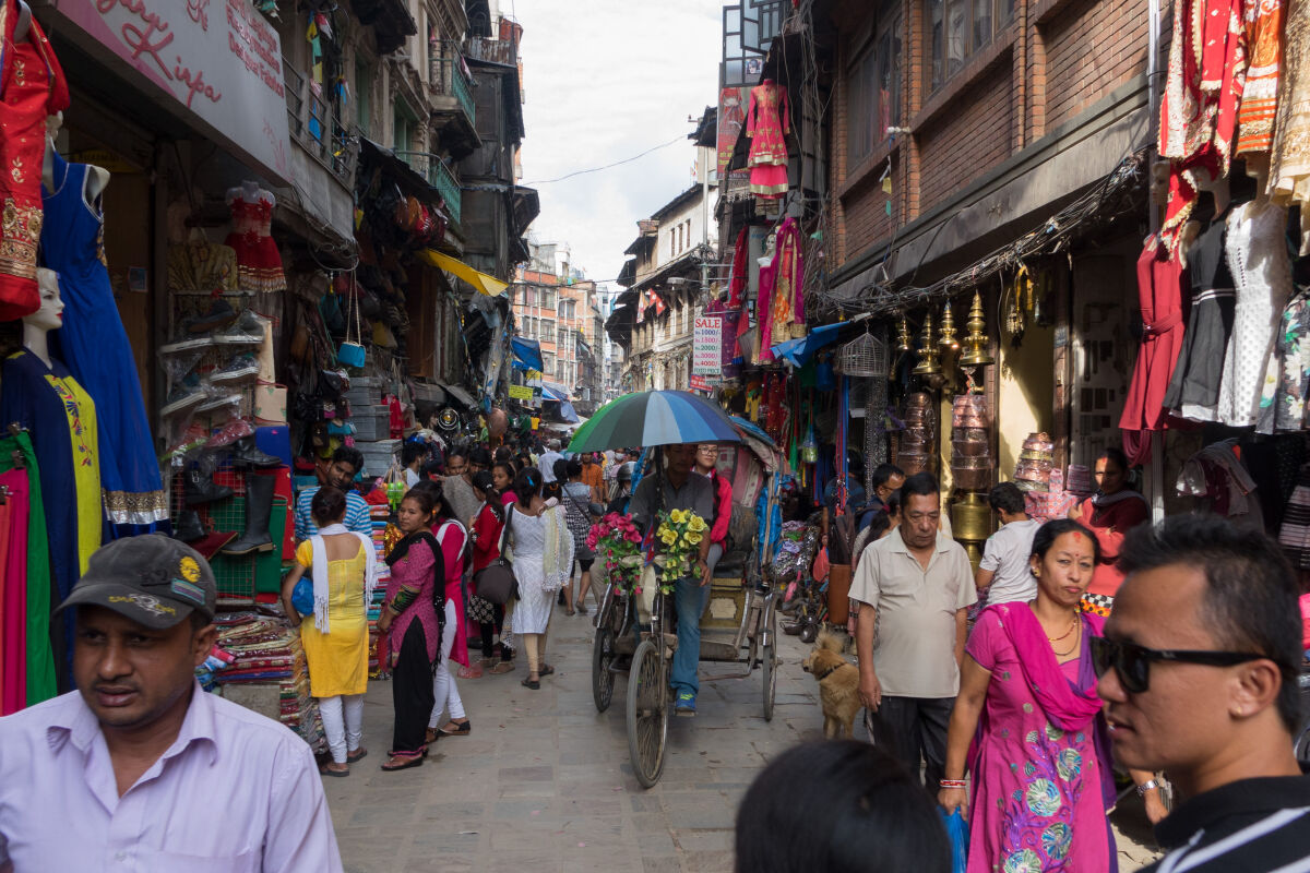 Kathmandu - where the route ends (or begins) in Nepal