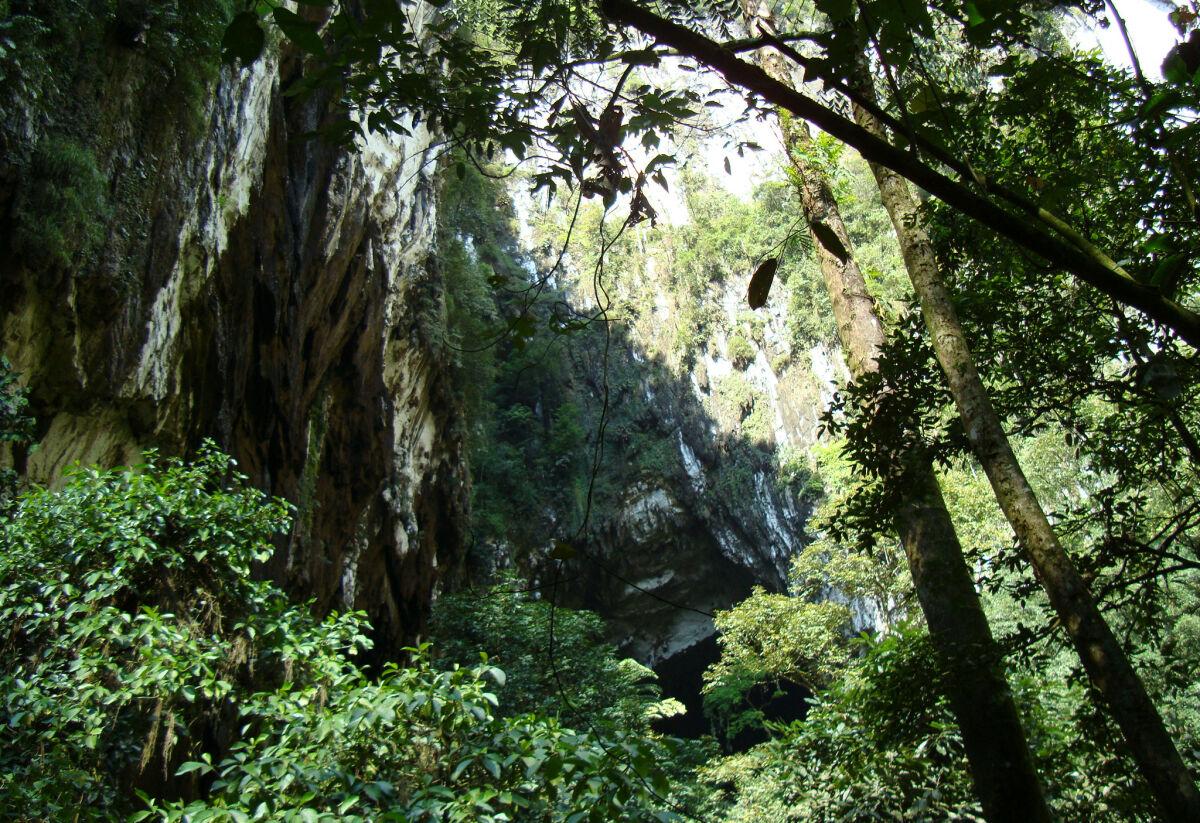 Underground wonder in Borneo's Mulu Caves