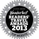 wanderlust silver web award winner 2013