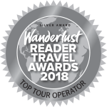 wanderlust 2018 silver award winners, top tour operator