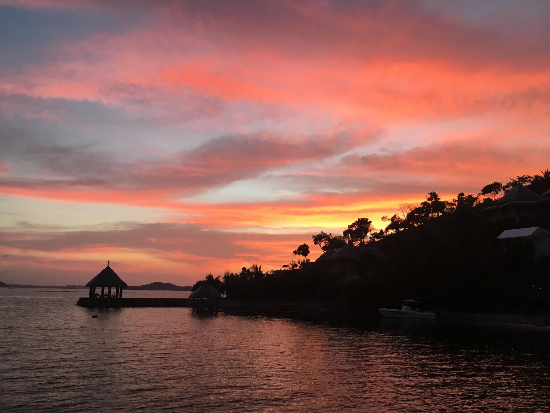 Sunset in Coron, Philippines