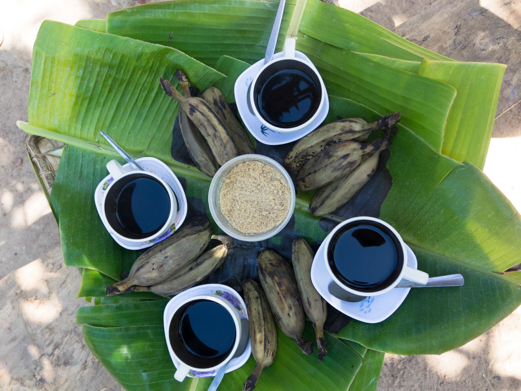 Beautiful coffee in Coron