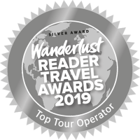 Wanderlest Travel Awards - Top Tour Operator 2019 - Silver