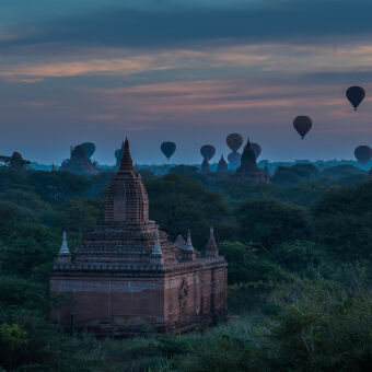 Discover the ancient city of Bagan