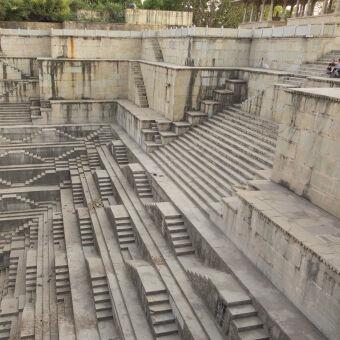 Visit India's sunken stepwells