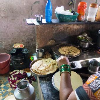 Slum in Mumbai