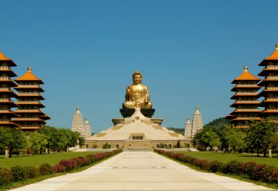 Stay overnight at Fo Guang Shan Monastery