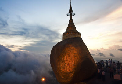 Myanmar's most astonishing sight - Golden Rock