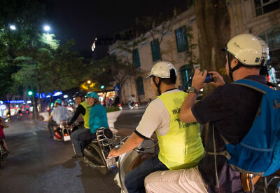 After dark Vespa tour of HCMC