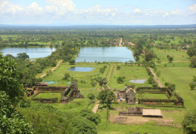 Angkor-era splendour on the Vat Phou cruise