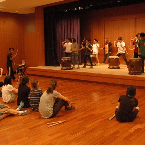 Taiko drumming workshop tokyo Japan
