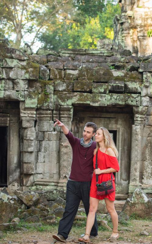 Cambodia honeymoons
