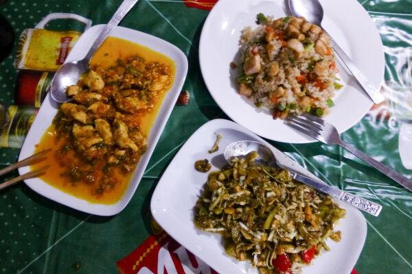 Breakfast in Myanmar