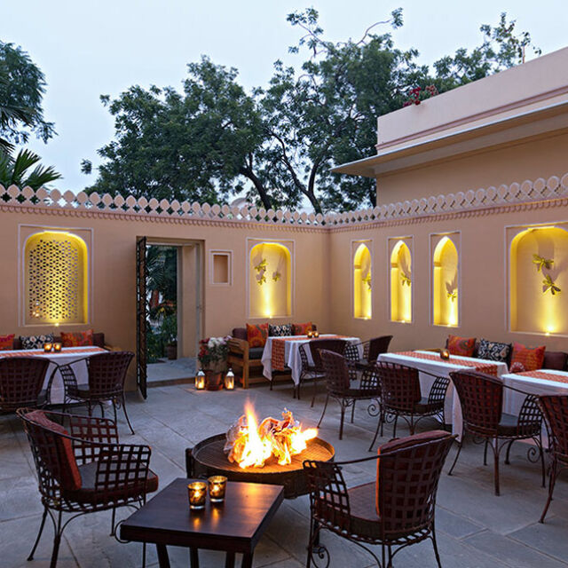 Staying in a haveli in India