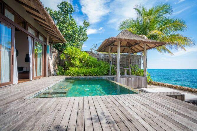 Sundeck, Ocean View villa