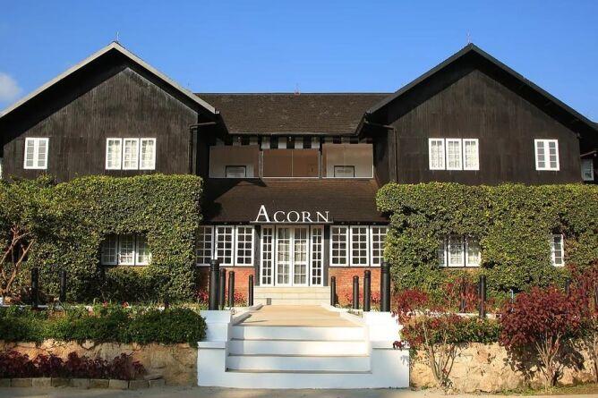Acorn building exterior