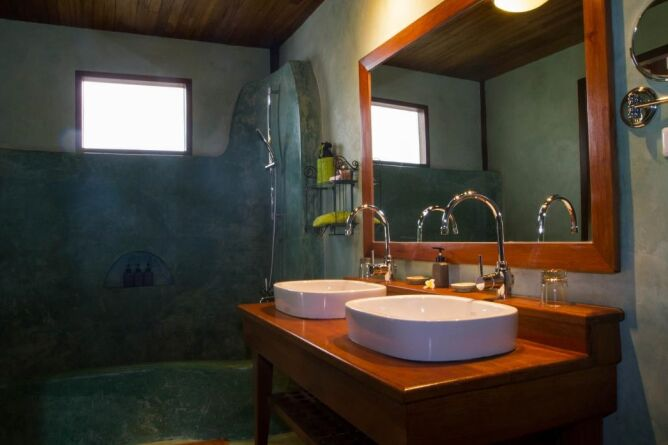 Bathroom of River view room