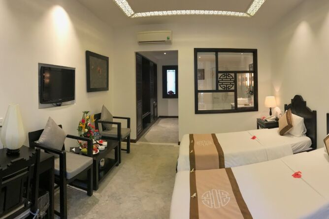 Newly refurbished room