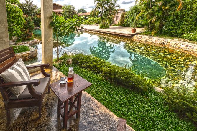 Pai hot springs, Thailand
