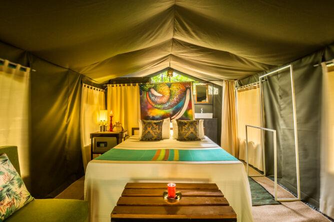 Explorer tent interior