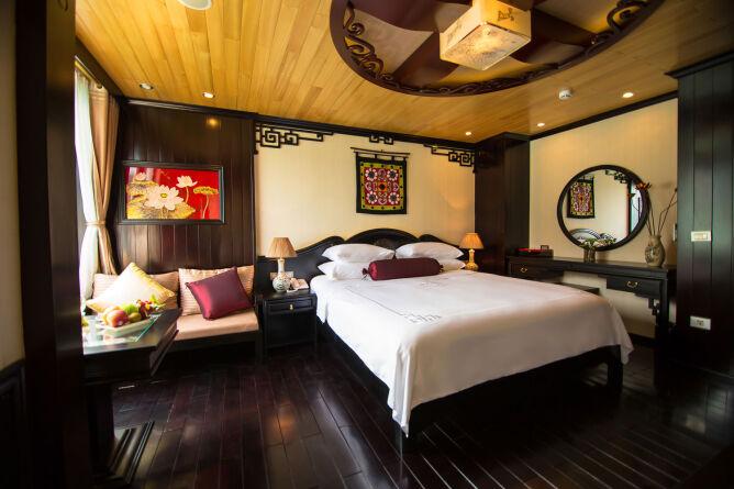 Opulent cabin interiors