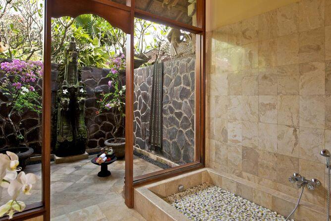 Garden View Bungalow - bathroom