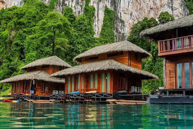 Villas on the lake