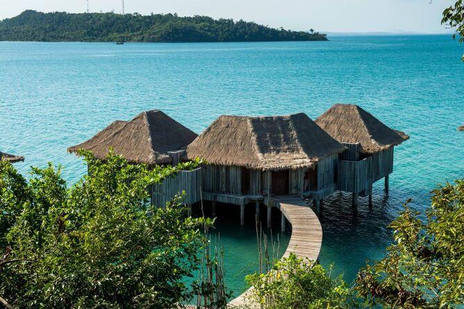 Two bedroom overwater villa exterior