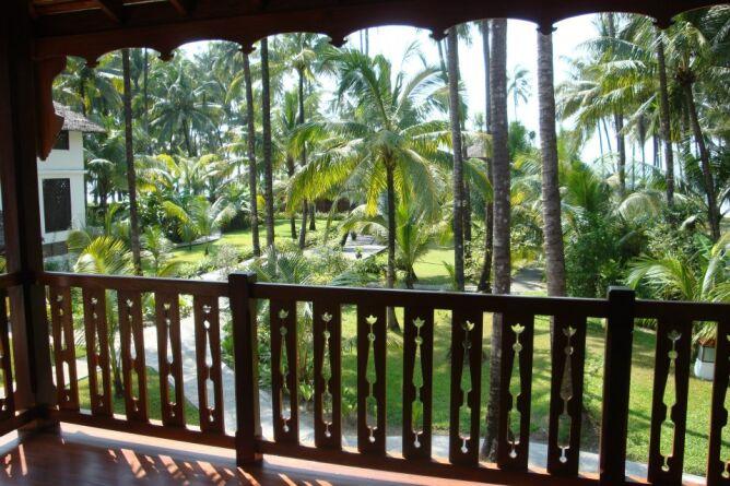 Views over the gardens