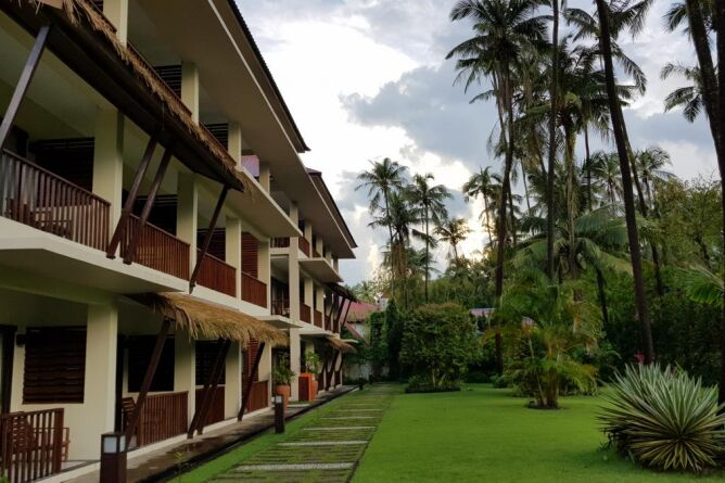 Rooms exterior