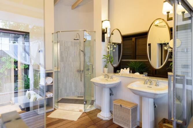 Spacious en-suite facilities