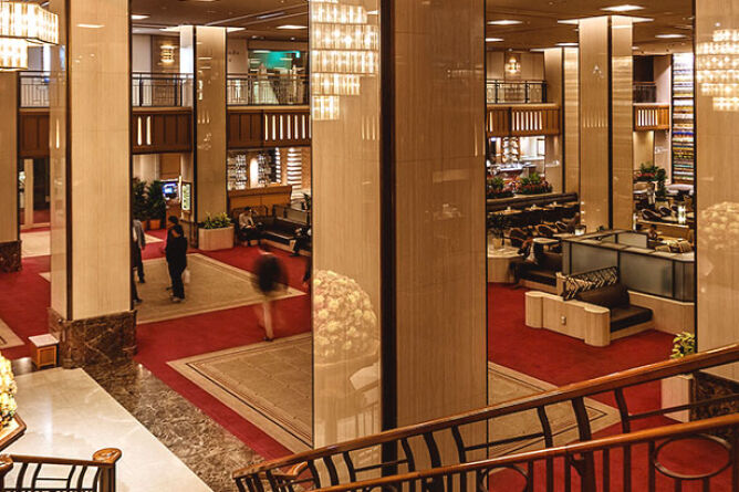 Grand lobby area