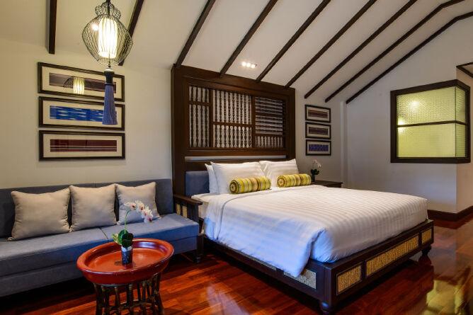 Romantic Lanna Corner Suite