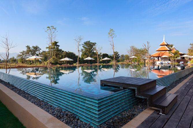 Rimna Chlorine-free outdoor pool