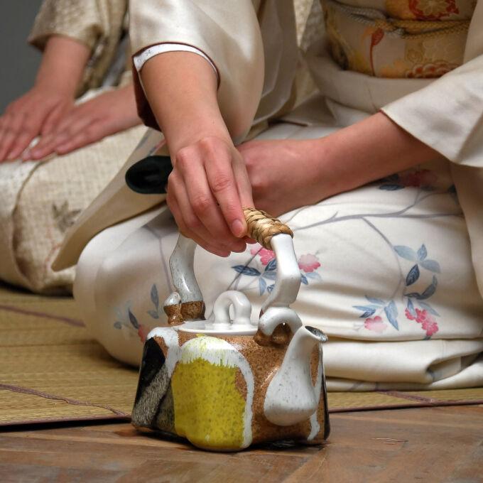 Private tea ceremony in Kyoto