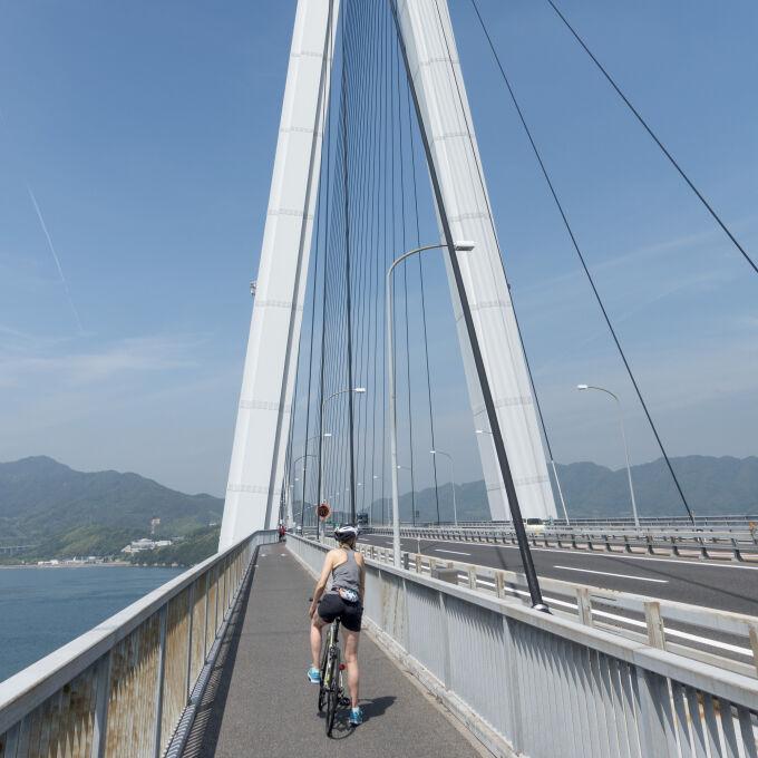 cycling the shimanami kaedo
