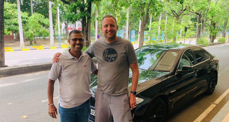 Nick in Sri Lanka