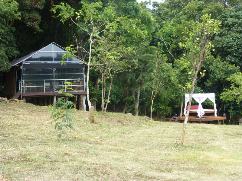 Luxury wilderness camp in Sri Lanka