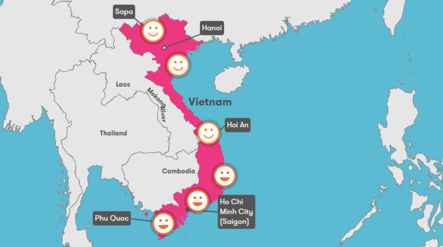 Nha Trang Vietnam Map.Vietnam Weather February Temperature Climate Best Time To Visit