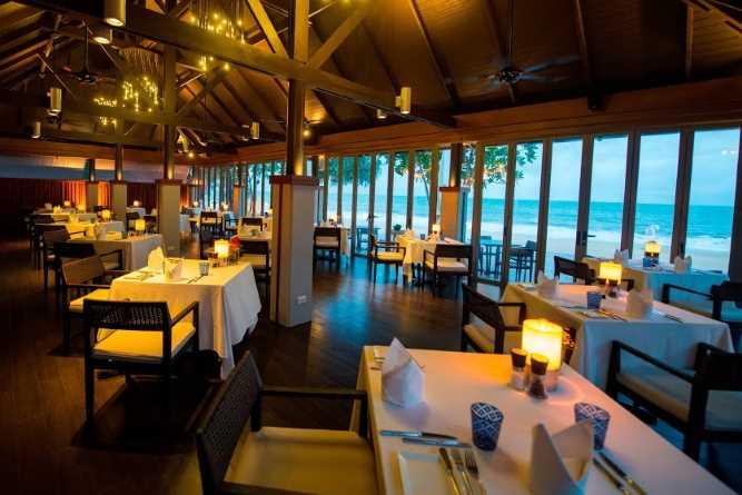 The Tides Restaurant boasts ocean views