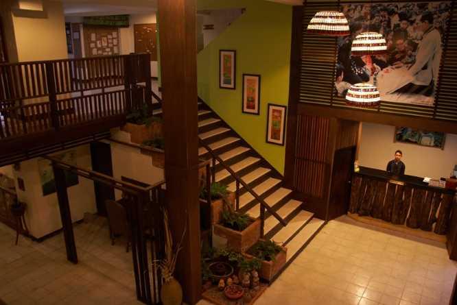 Phumanee's lobby area