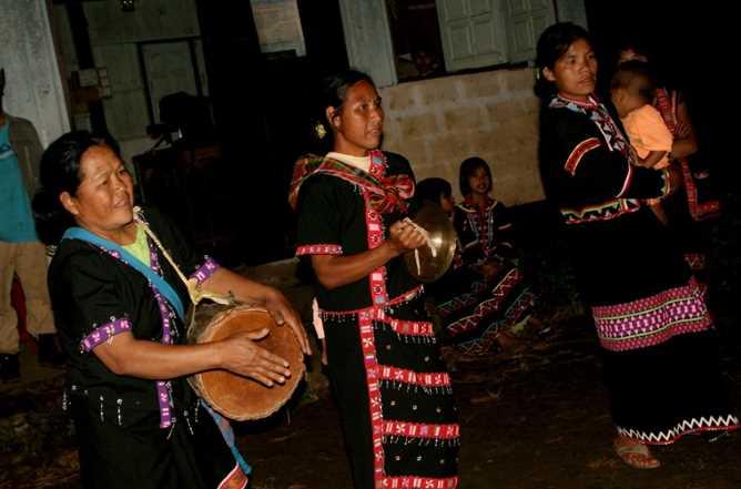 Lahu villagers from Doi Pumuen