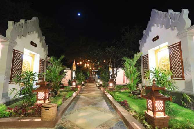 Bagan Villa exteriors