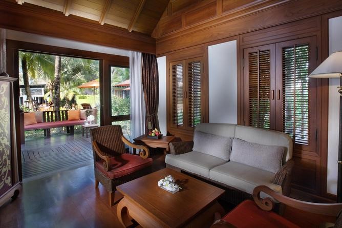 Villa seating area
