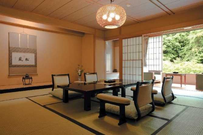 Choice of Japanese style rooms
