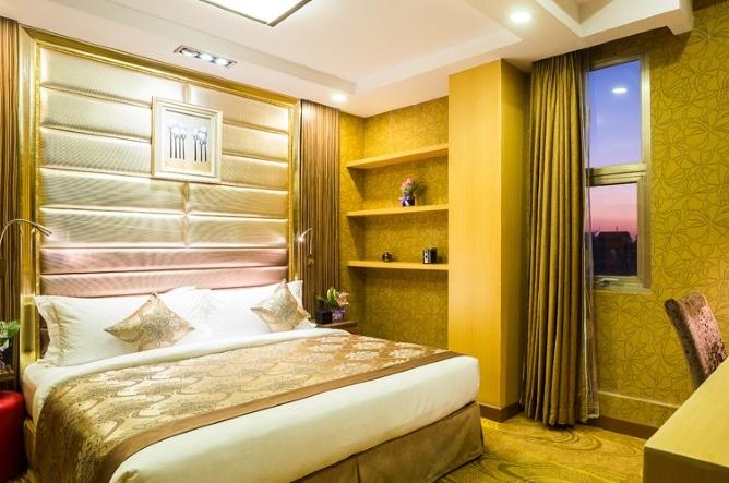 Deluxe room interior